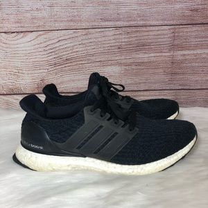 Adidas Ultra Boost 3.0 Core Black Running Shoes